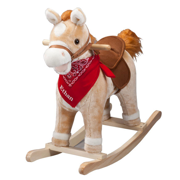 Personalized Rocking Horse With Sound - View 2