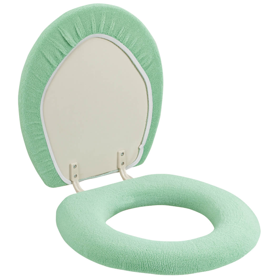 cushioned toilet seat covers. Toilet Seat Cover 303457 Sherpa  Cushioned Miles Kimball