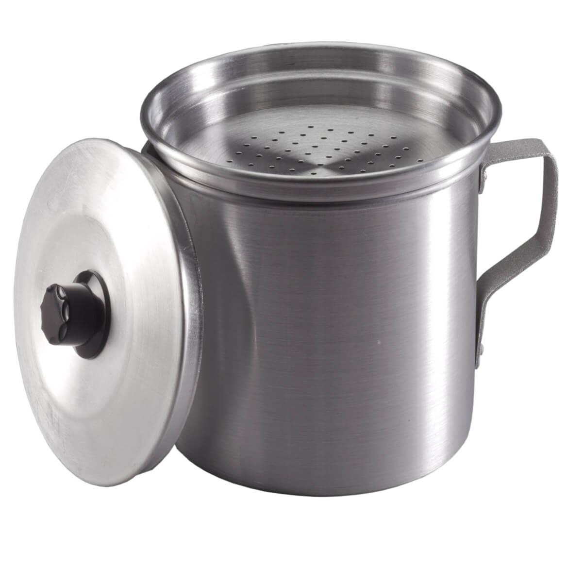 Oil strainer cooking pot