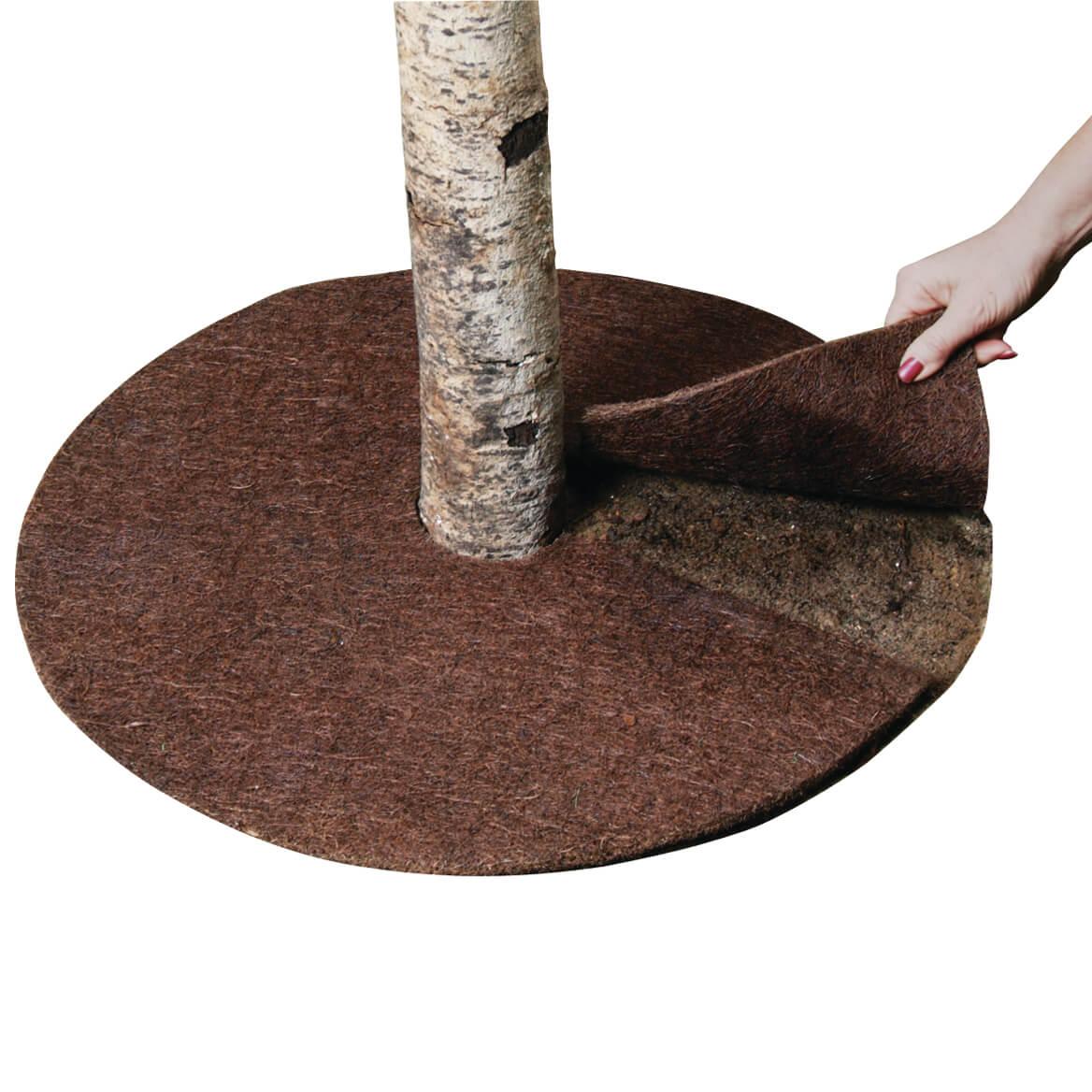 Coco Fiber Tree Ring Coco Fiber Mulch Tree Mat Miles