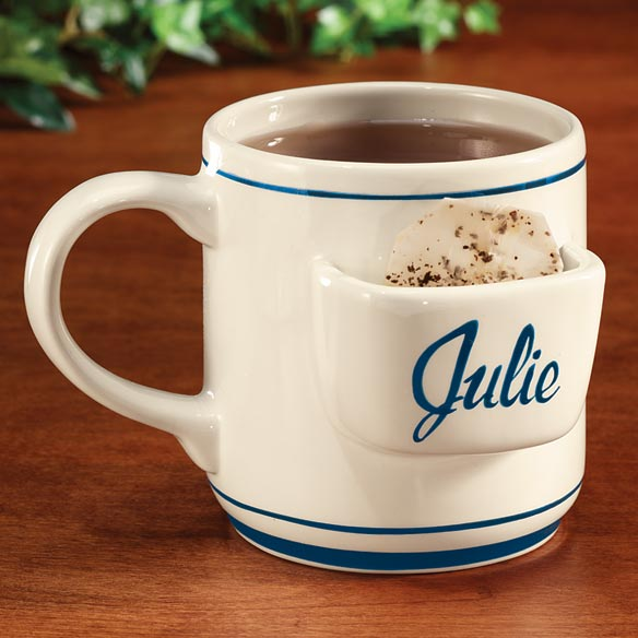 Personalized Tea Bag Mug