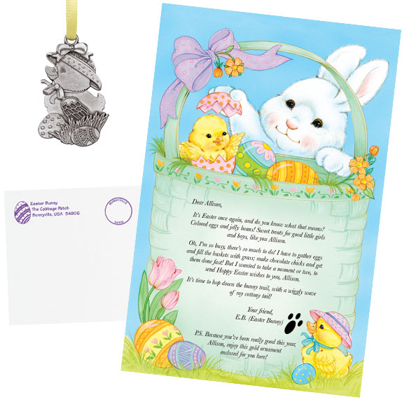 Personalized Easter Letter - View 1