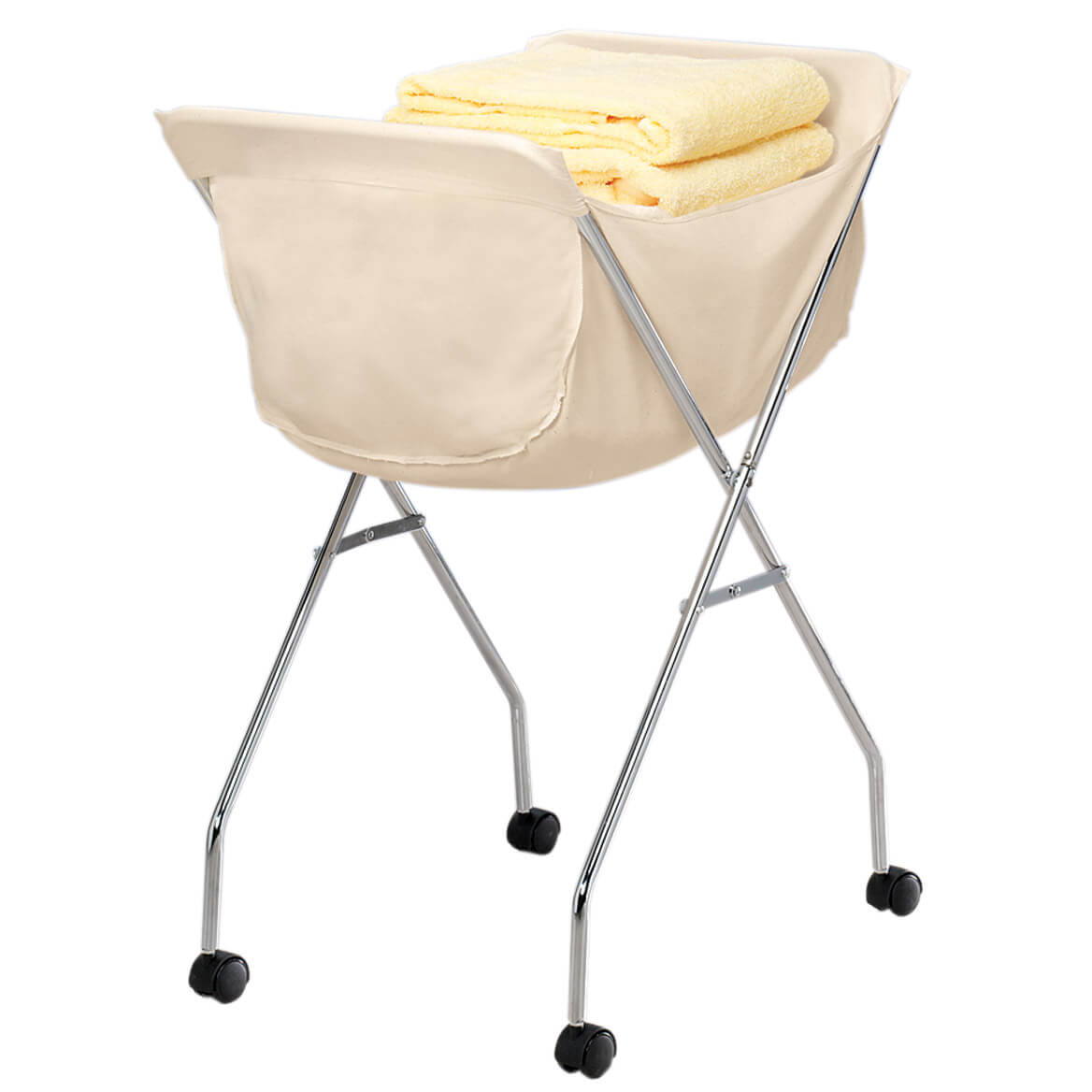 Laundry Cart Rolling Laundry Cart Laundry Miles Kimball