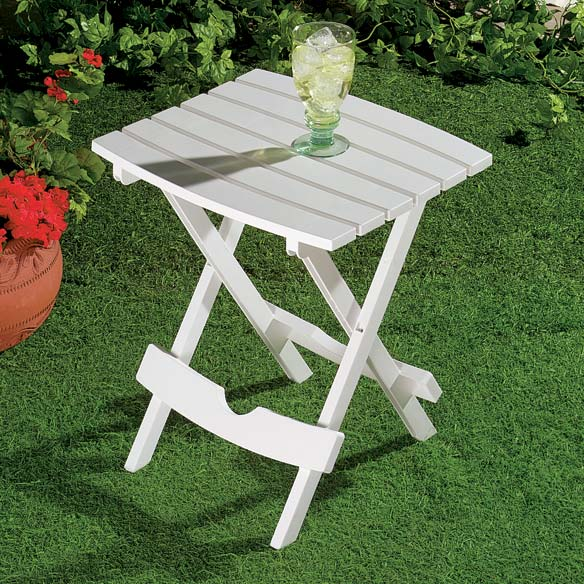 Outdoor Folding Side Table - View 1