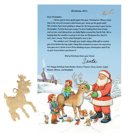 Personalized Letter From Santa - View 1