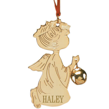 Personalized Baby Christmas Ornament - Baby Ornament - Miles Kimball