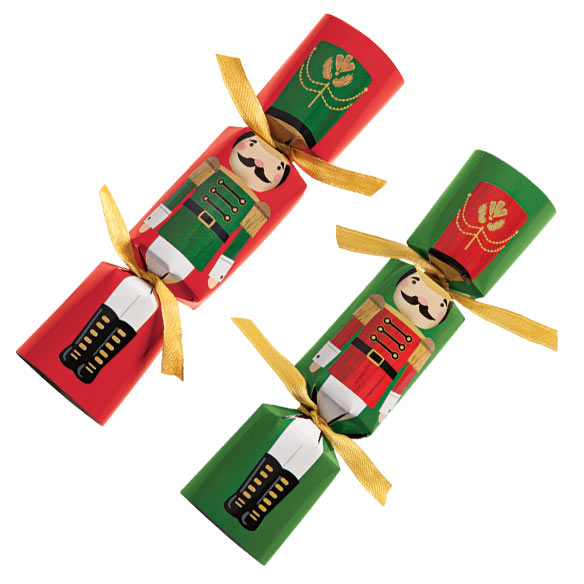 Christmas Party Crackers - Set Of 8