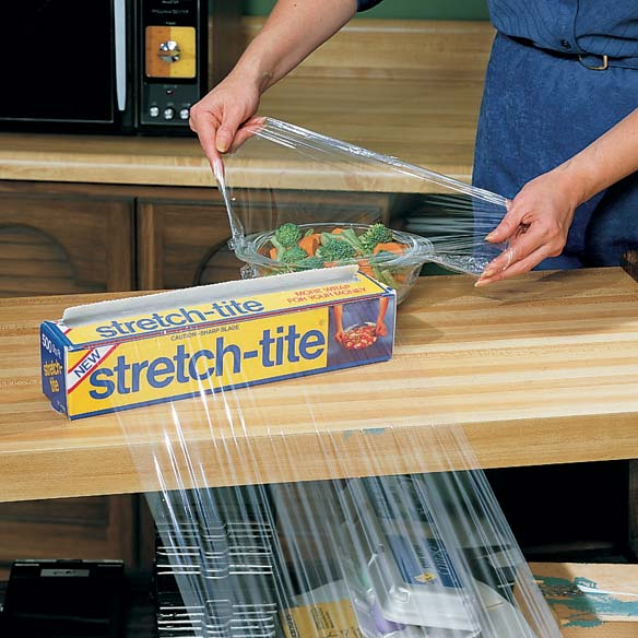 Stretch-Tite® Premium Plastic Food Wrap - View 1