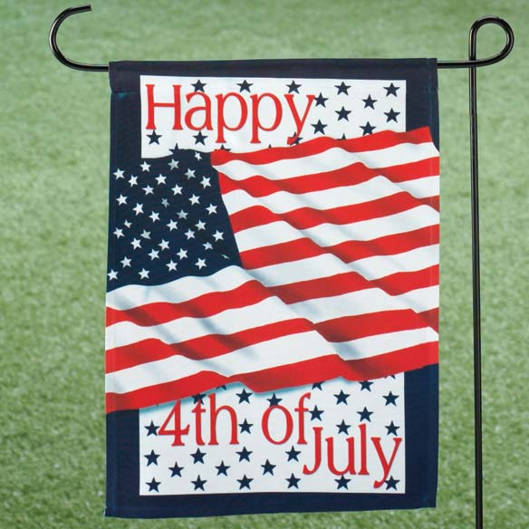 4th Of July Garden Flag