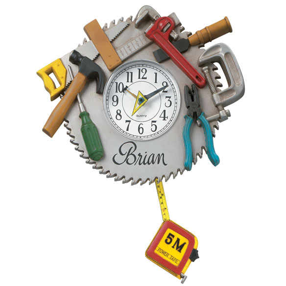 Workshop Wall Clock
