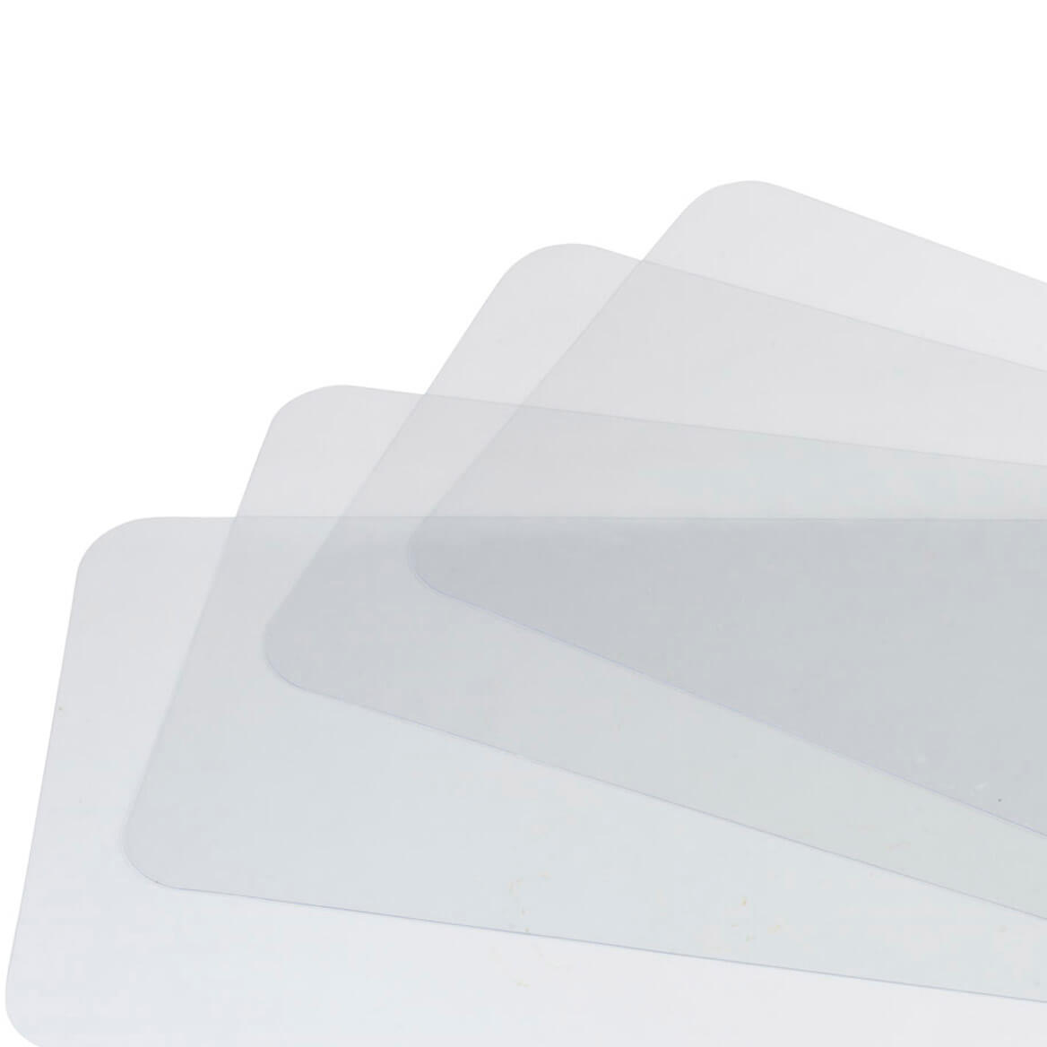 Clear Plastic Placemats Clear Placemats Placemats Miles Kimball - Clear placemats for table