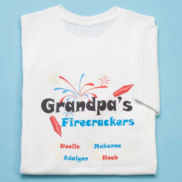 Grandpas Firecrackers T Shirt