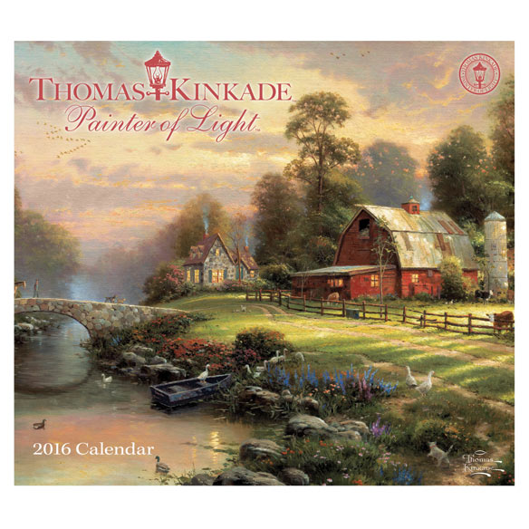 Thomas Kinkade Wall Calendar - View 1