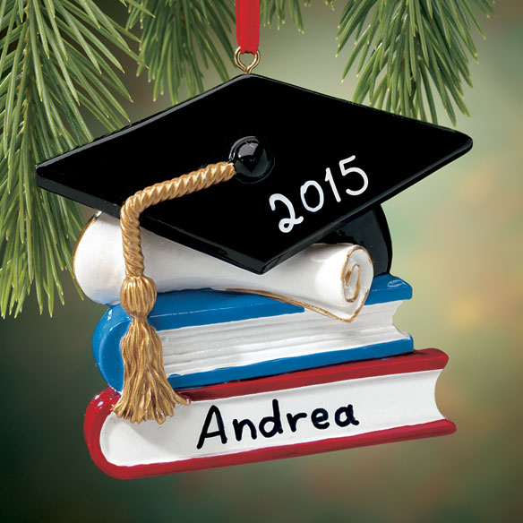 Personalized Graduation Ornament - View 1