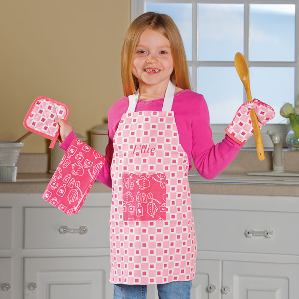 Personalized Kids Apron Set