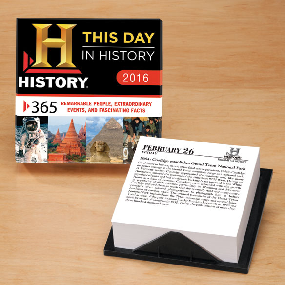 This Day In History Calendar 2016