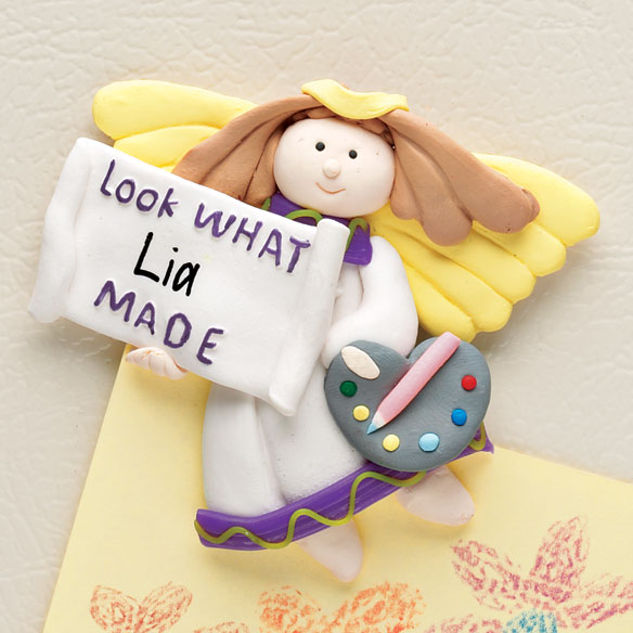 Personalized Angel Magnet