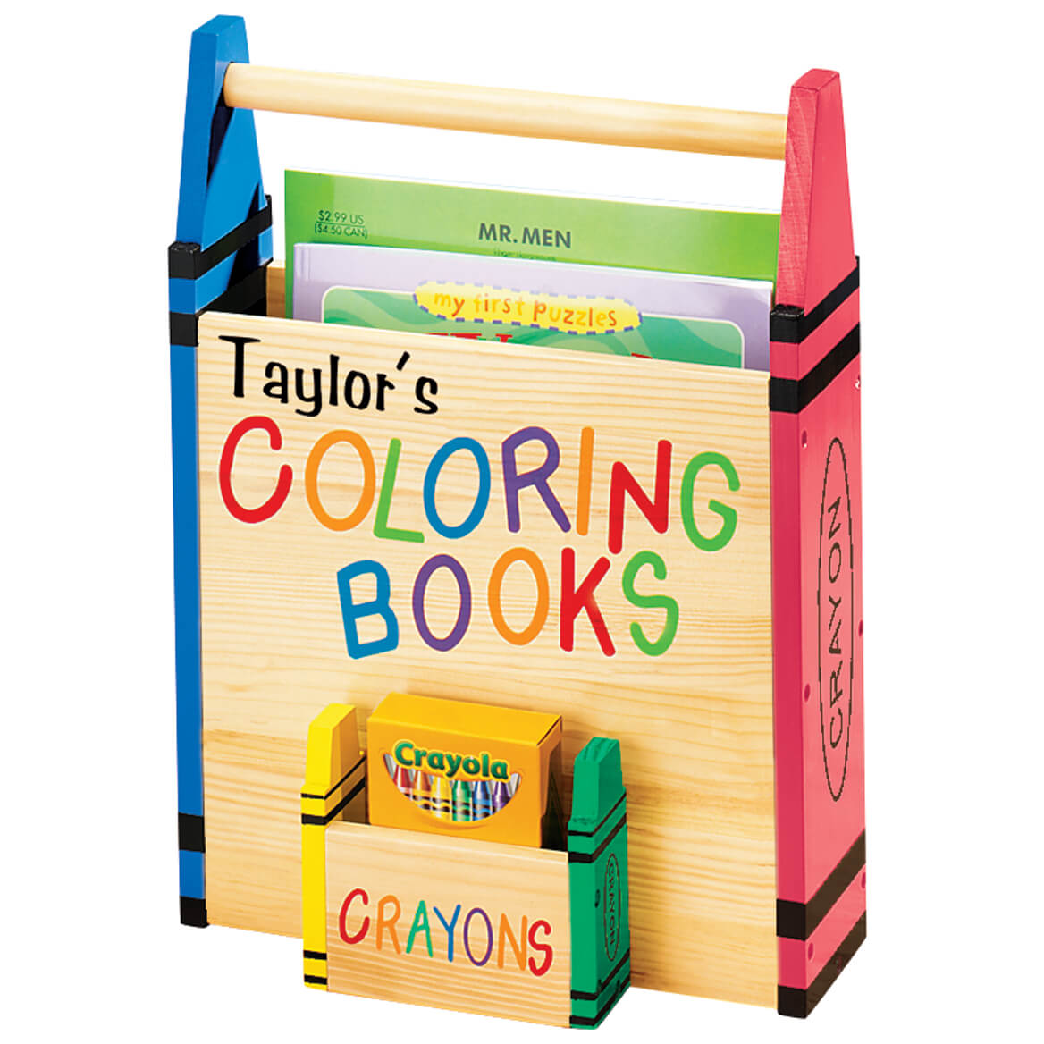personalized coloring book holder 315567 - Coloring Book And Crayon Holder