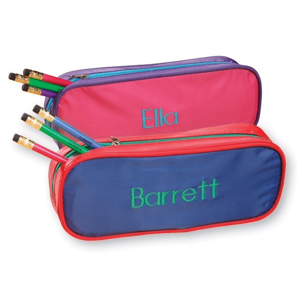 Personalized Slim Pencil Case