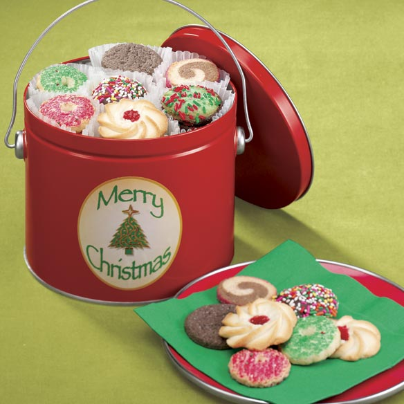 Merry Christmas Cookie Tin