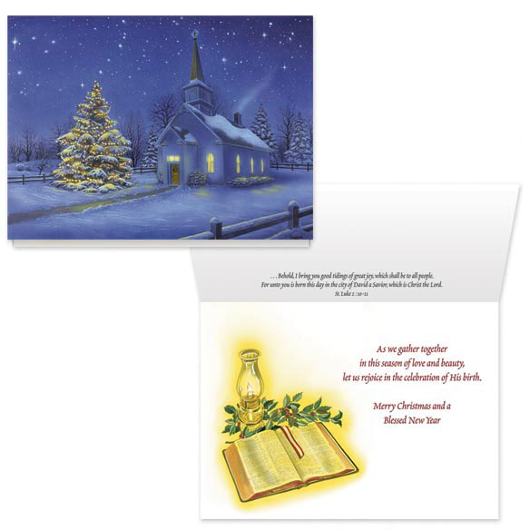 Country Church Card Set - View 1