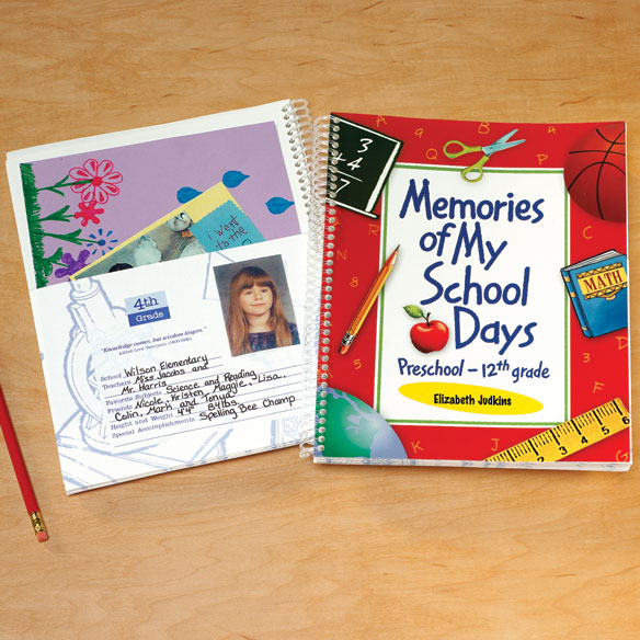 Personalized School Days Book - View 1