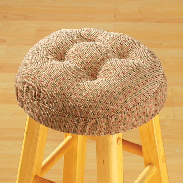 Raindrop Bar Stool Cushions - View 1