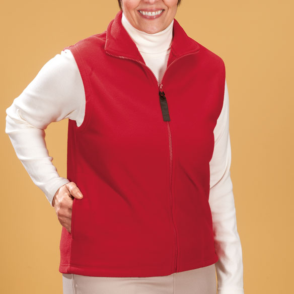 Micro Fleece Vest - View 1