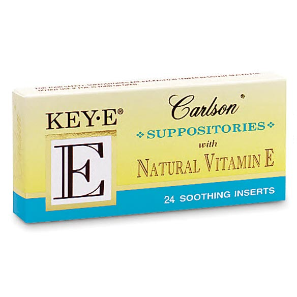 Vitamin E Suppositories