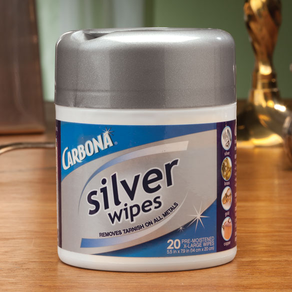 Carbona® Silver Wipes
