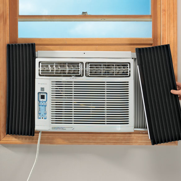 Air Conditioner Side Insulating Panels - Set Of 2