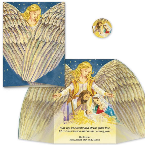 Florentine Nativity Christmas Card Set/20