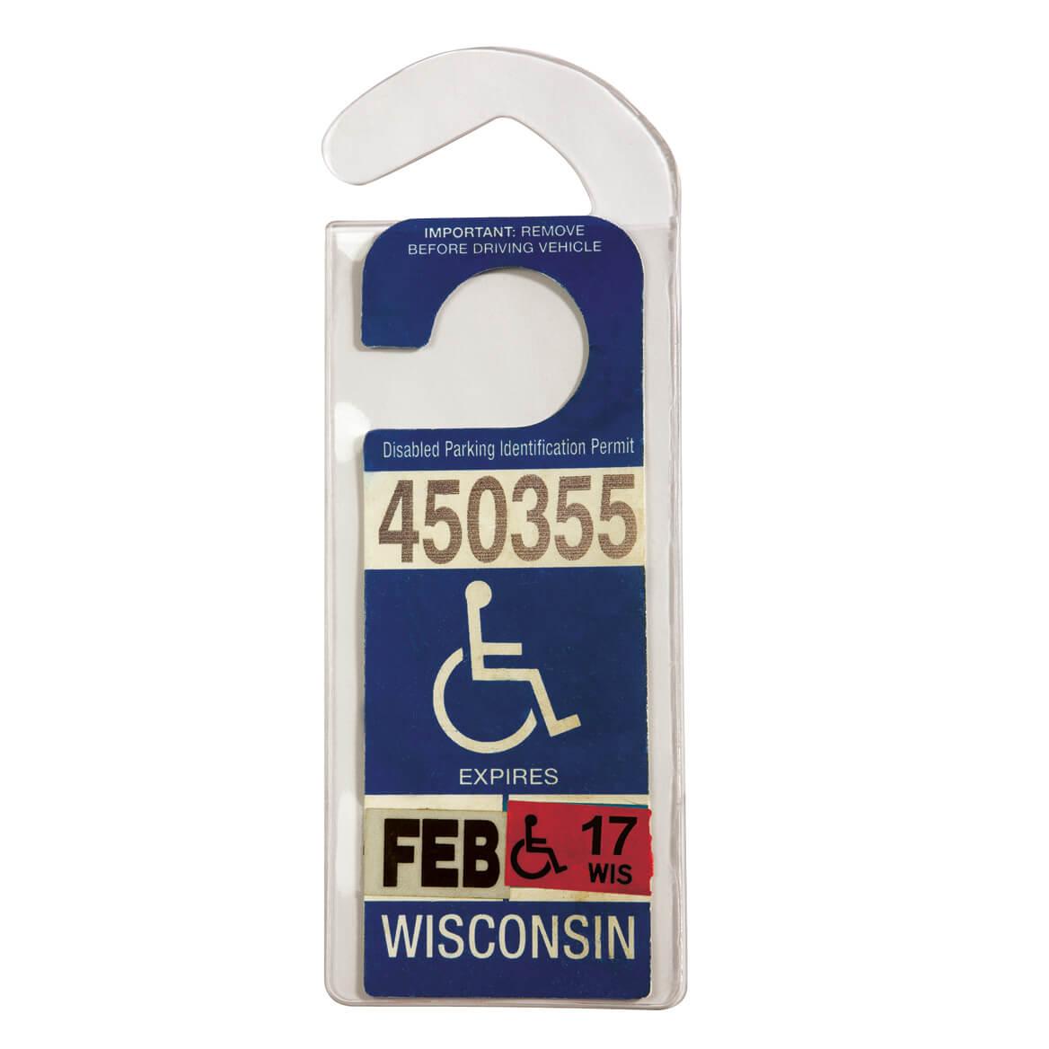 Handicap Placard Hanger - Handicap Placard Protector ...