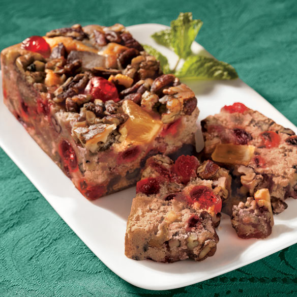 No-Sugar Added Fruit Cake