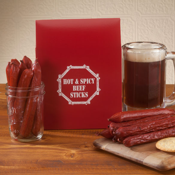 Smokehouse Hot & Spicy Beef Sticks