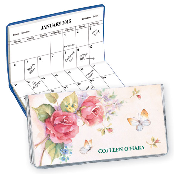 Roses 2 Year Personalized Planner