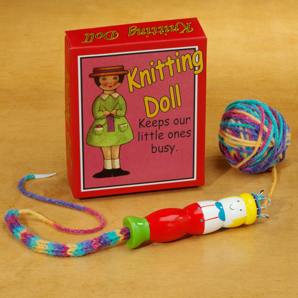 Knitting Doll - View 1