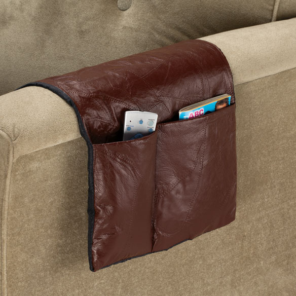 Leather Armchair Caddy - View 1
