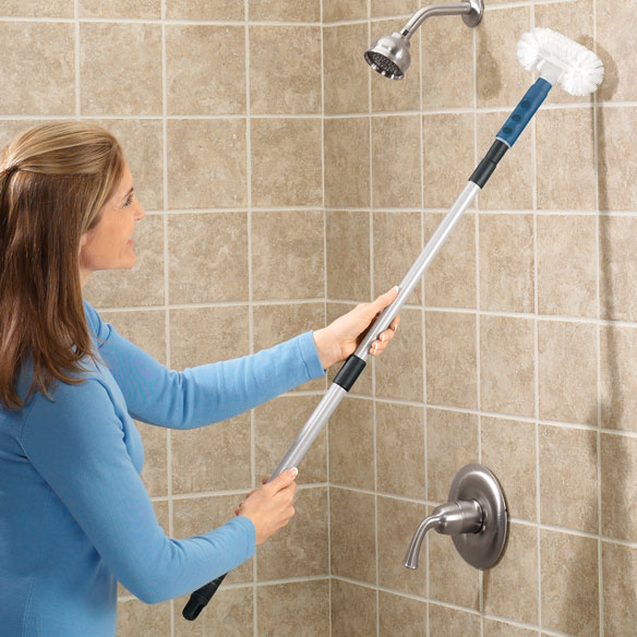 Long Handle Tub Scrubber - View 1