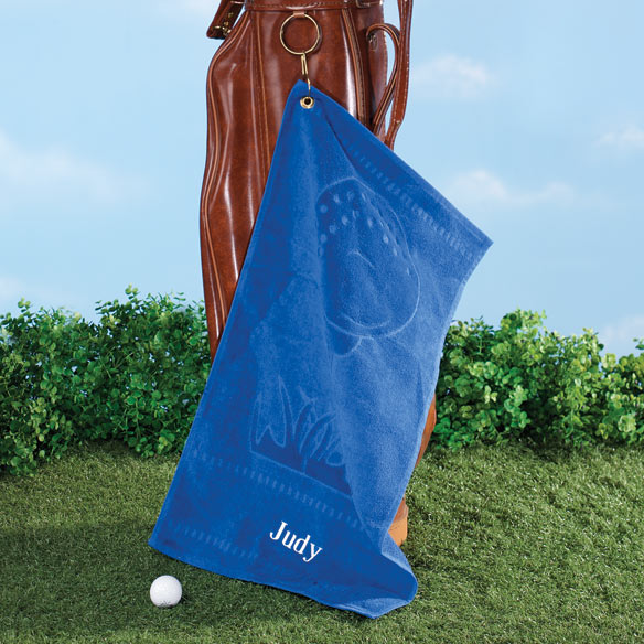 Personalized Golf Towel - View 1