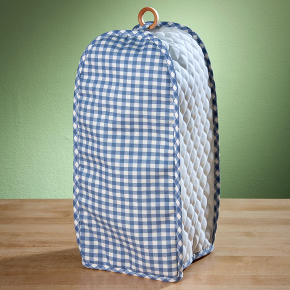 Gingham Appliance Cover Blender - View 1