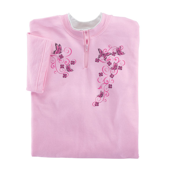 Sweet Butterflies Short Sleeve Sweatshirt