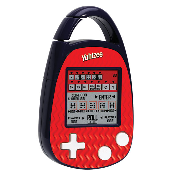 Handheld Yahtzee Game
