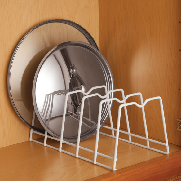 Kitchen Lid Rack Organizes Bakeware, Plates, Lids Or Cutting Boards With  This Upright Storage Rack. Plate Lid Rack Fits Easily In Most  Cabinetsu2014making It ...