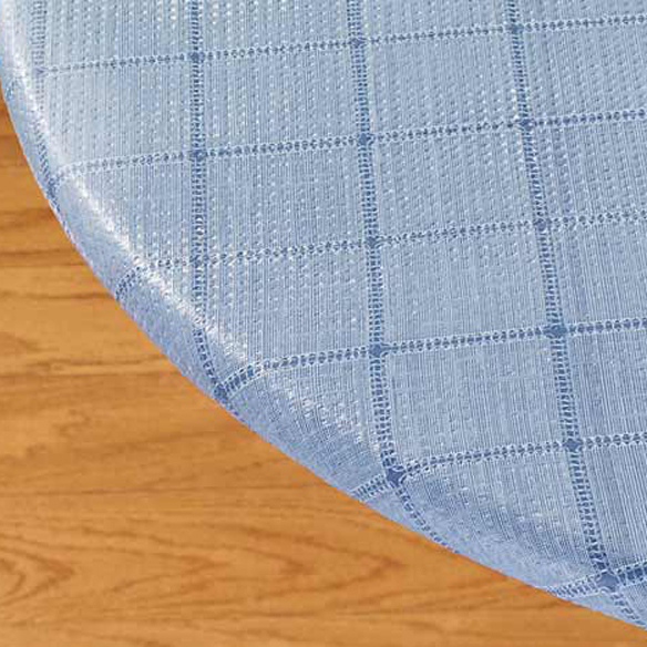 Woven Lattice Elasticized Table Cover