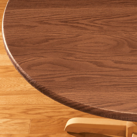 Wood Grain Fitted Table Cover Fitted Table Cover Miles