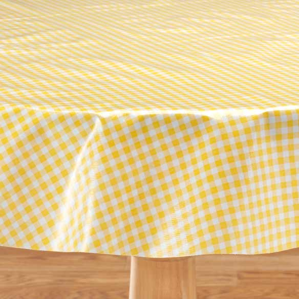 Gingham Oilcloth - View 1