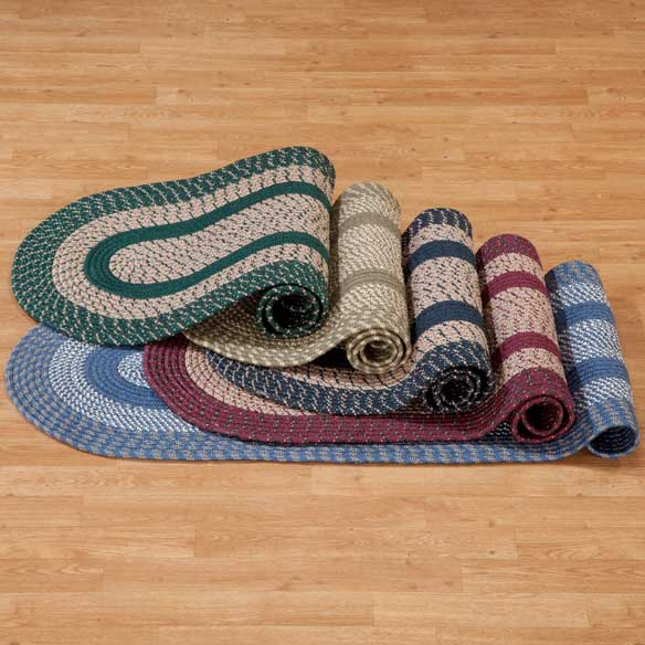 Oval Braided Rug - View 1