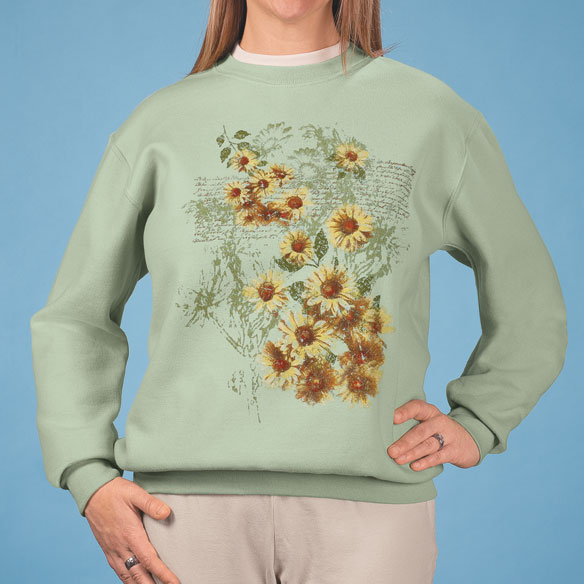 Sunflowers Sweatshirt - View 1