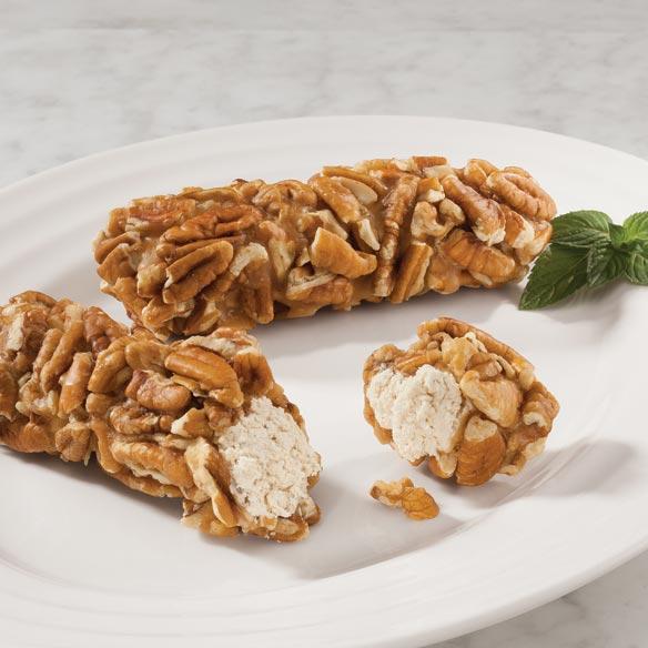 Penuche Pecan Log Roll - Nuts & Snacks
